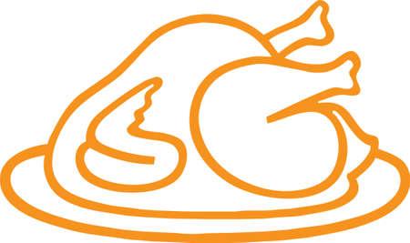 Eine Abbildung mit Fried Chicken