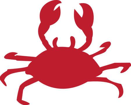 Eine Abbildung mit Krabben