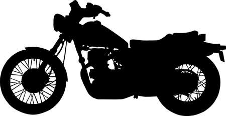 An illustration with motorcycle Illustration