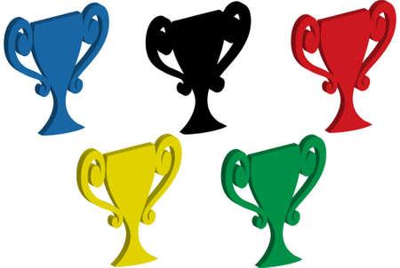 Eine Abbildung mit Olympic Trophy