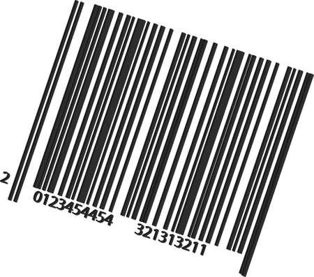 Eine Abbildung mit Barcode