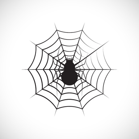 cobwebby: Vector spiders and web