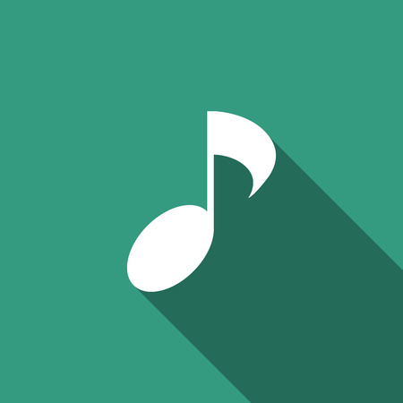 music notes vector: Music notes vector icon Illustration