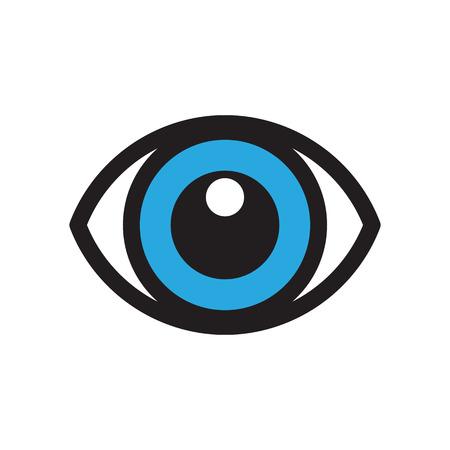 oogpictogram Stock Illustratie