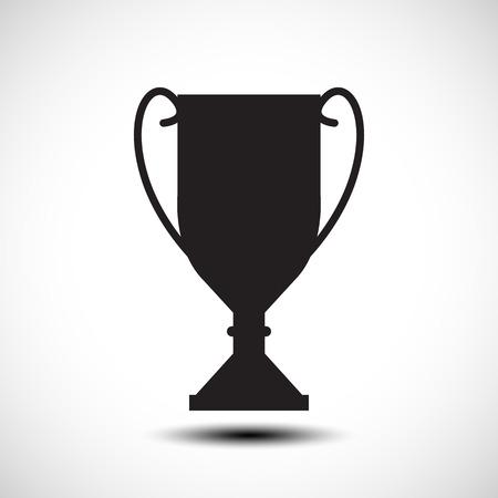 Trophy vector icon 向量圖像