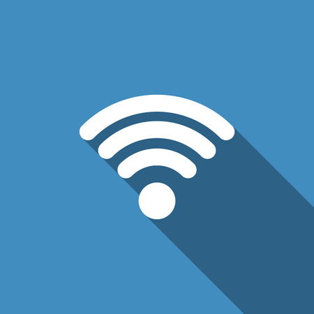 wireless icon: Vector Wireless Icon Illustration