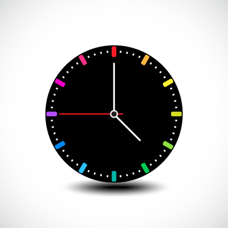 Time icon. Vector illustration Vector