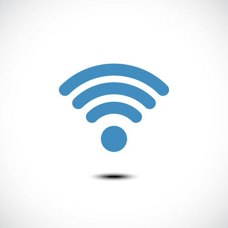Wireless icon. Vector Illustration Illusztráció