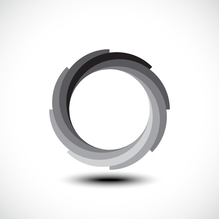 infinite loop: Abstract Infinite Loop icon. Vector illustration Illustration