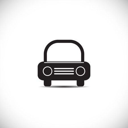 car grill: Car icon. Vector illustration