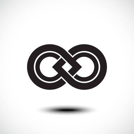 vector symbol: An attractive Infinity vector symbol Illustration