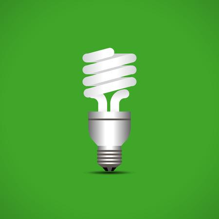 fluorescent lights: Light bulb icon. Idea concept. Vector illustration.