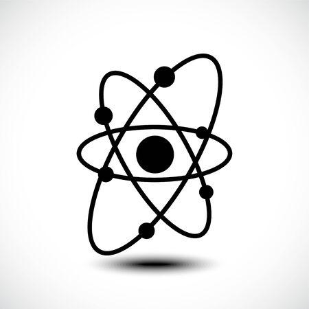 Atom icon, atom symbol. Vector illustration Stock fotó - 138155389