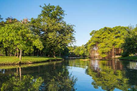 public park: Hermosa Canal en Suan Luang Rama 9 Public Park, Tailandia