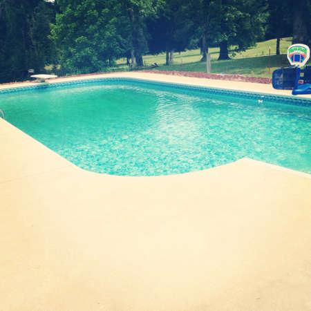 fun day: Having a fun day at swimming pool.