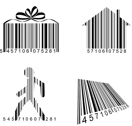 Shoping: Barcodes Illustration