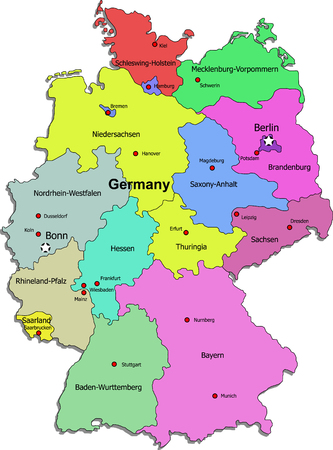 germany map: Germany map