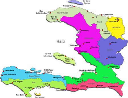 fund world: Haiti map