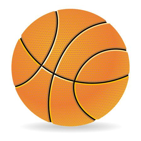 Basketball illustration Stock Vector - 8242950