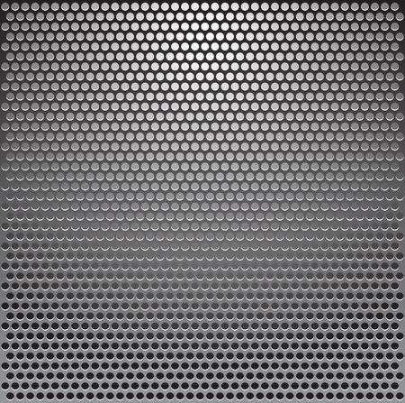 Vector metal grille Stock Vector - 8786650