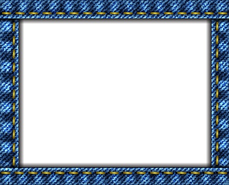 indigo: Jeans background frame