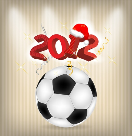 2012 year holiday illustration Vector