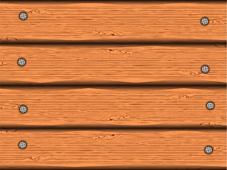 Wooden boards vector Vector