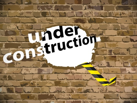 Under construction illustration Stock Vector - 16220963