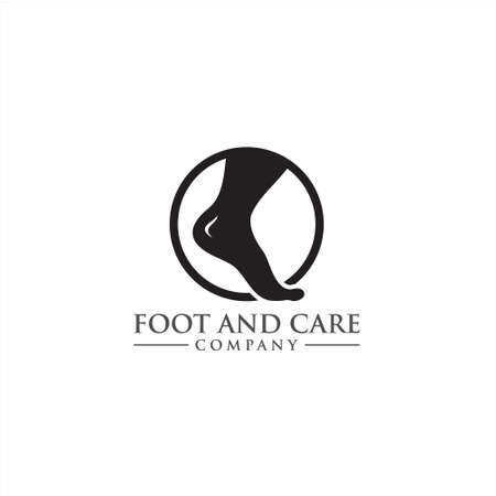 Foot and ankle care icon