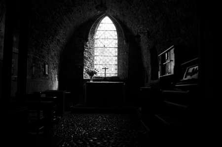 tenby wales: Caldey Island Church