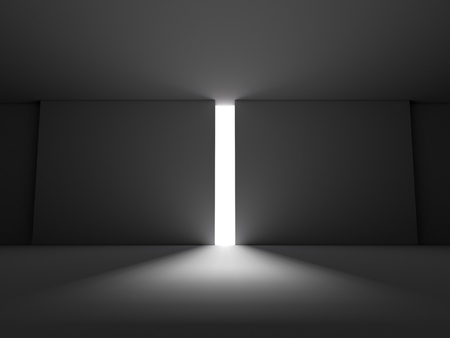 room to let: The gates to the light future. Blank for text