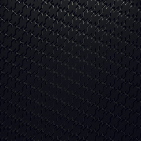 Depth color houndstooth rendered pattern wallpaper. Light wall