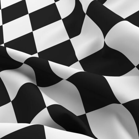 checker: Auto sport grid finish flag background. Black and white wallpaper