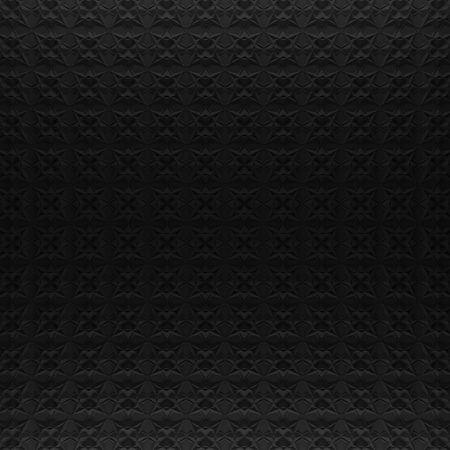 slit: Black abstract pattern backdrop. 3d rendering geometric polygons, as tile wall. Interior room Stock Photo