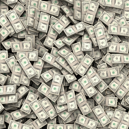 Geld rekeningen achtergrond