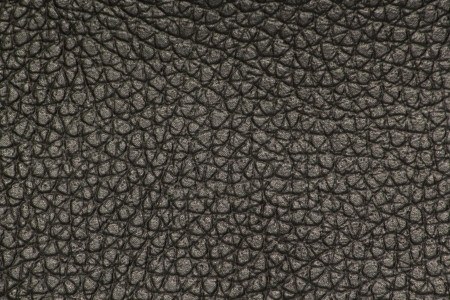 Extreme closeup of black leather  photo