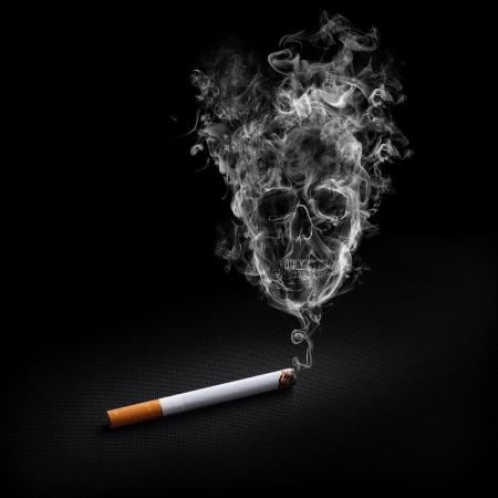 Roken sigaret Stockfoto