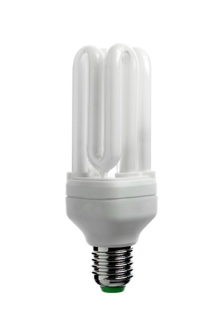 Economic light bulb, environmentally friendly photo