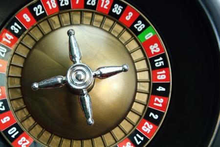 Achtergrond van een casino roulette wiel