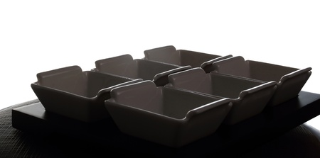 Sauce containers or recipients photo