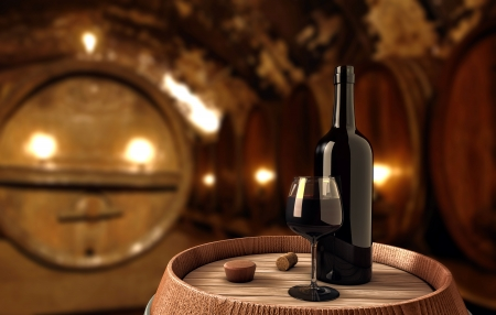 Wine background photo
