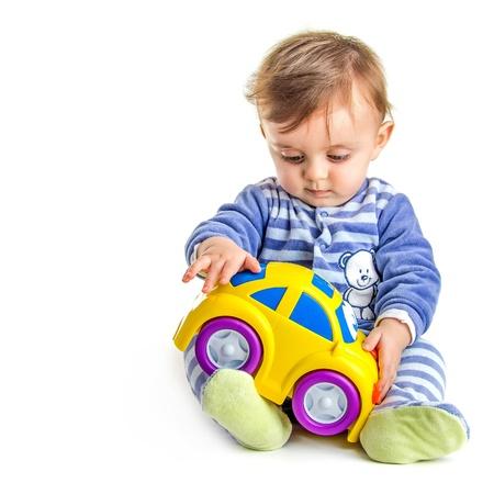 Baby play Reklamní fotografie
