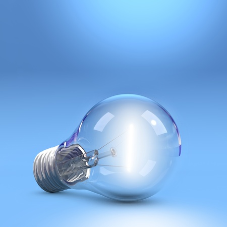 LightBulb on floor photo