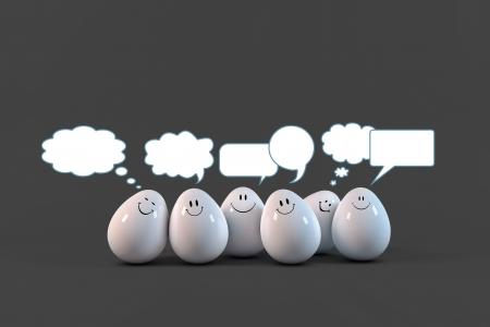comunication: Eggs comunication