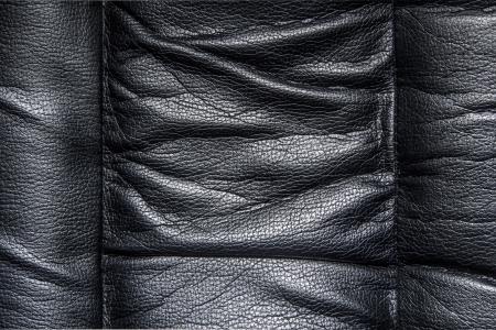 Black leather photo