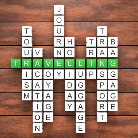 saver: Travelling crossword table