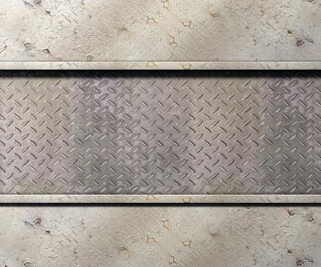 Textura de metal con las placas de fondo ilustración 3d Foto de archivo - 77480566