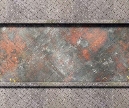 Textura de metal con las placas de fondo ilustración 3d Foto de archivo - 77536781
