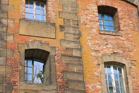 gauzy: facade of Saloppe WaterWorks I-Dresden