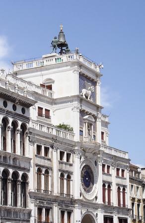 tooled: Torre dellOrologio-Venice